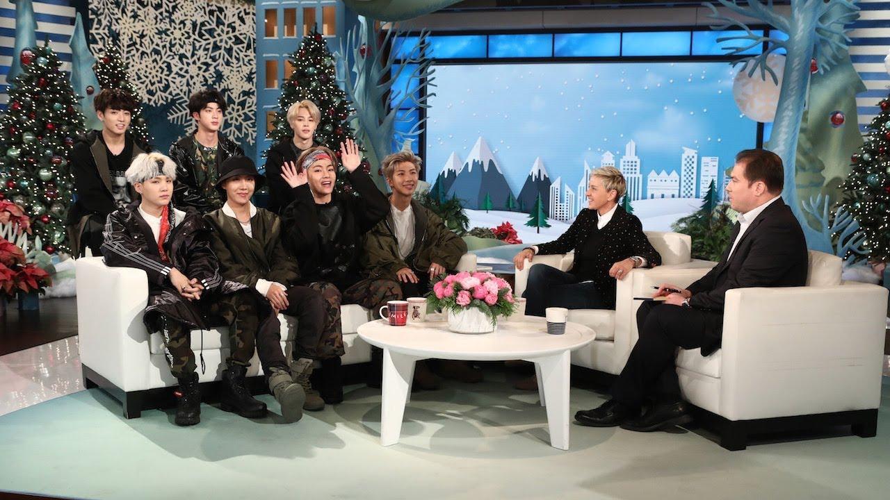 Xuất hiện trong show truyền hình cực kì ăn khách của Ellen.