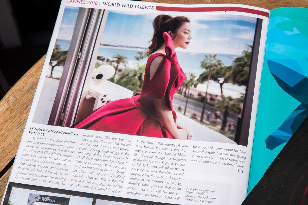 Phim 'Angel Face' do Lý Nhã Kỳ đầu tư và sản xuất được tạp chí Pháp dự đoán thắng giải ở LHP Cannes 2018