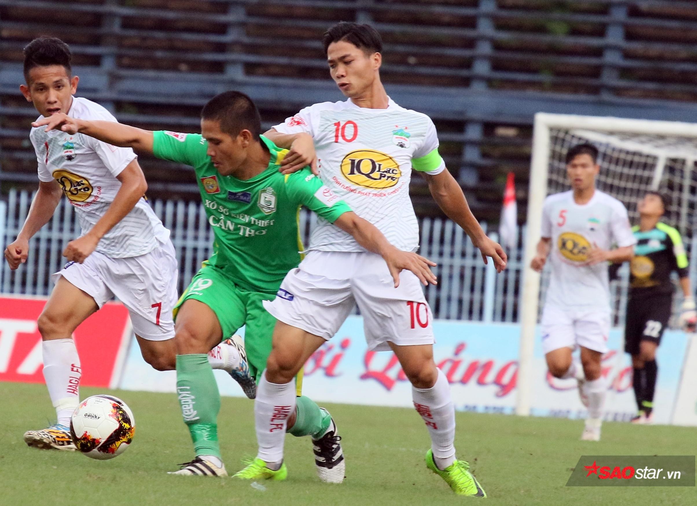 HAGL từng bị HLV Vũ Quang Bảo chê không biết chơi tiểu xảo trước Cần Thơ.