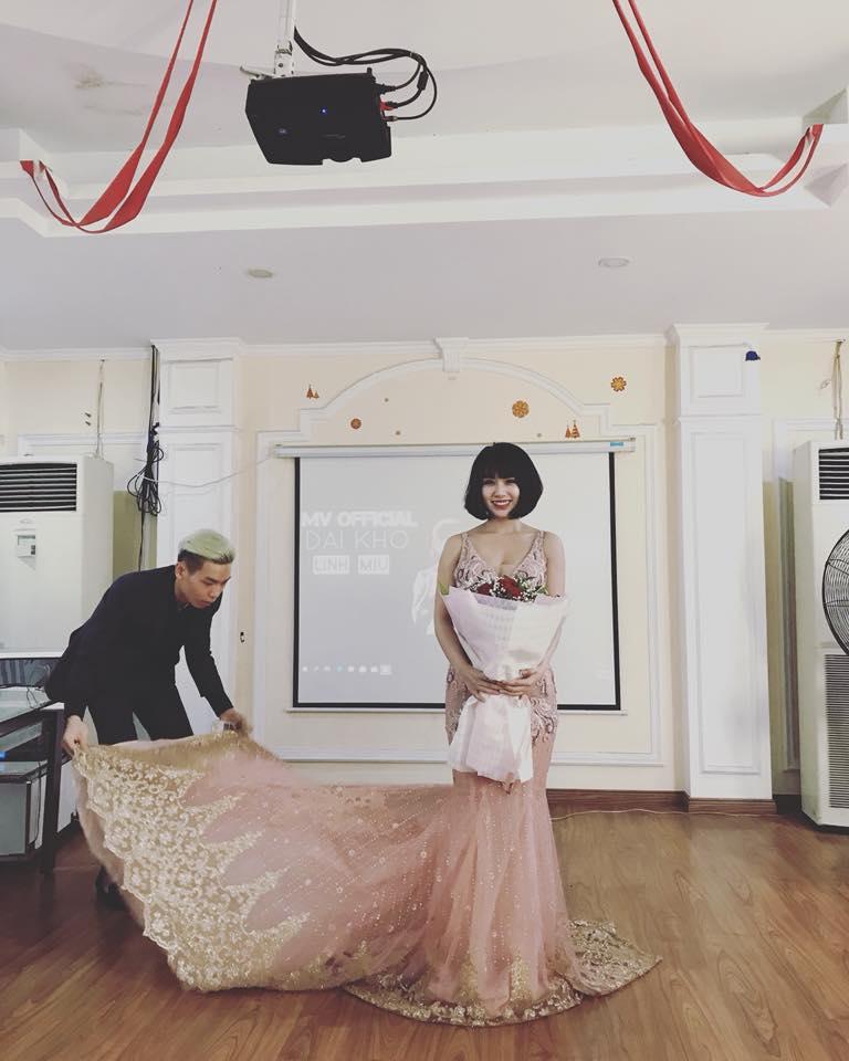 Bức ảnh mới nhất của Linh Miu trên trang cá nhân.