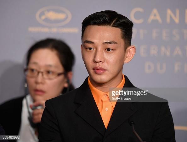 Nam chính Yoo Ah In.