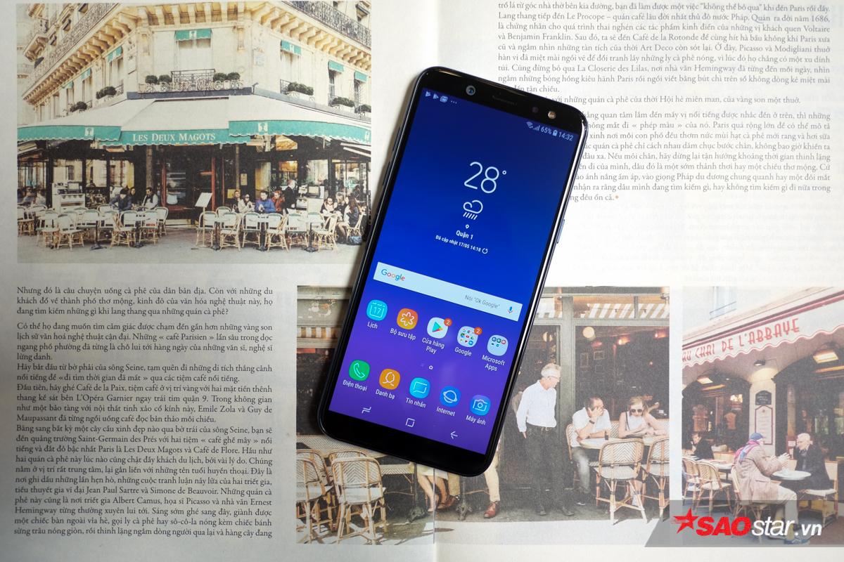 Galaxy A6 của Samsung sẽ lên kệ trong những ngày cuối tháng 5 với giá 6,9 triệu đồng.