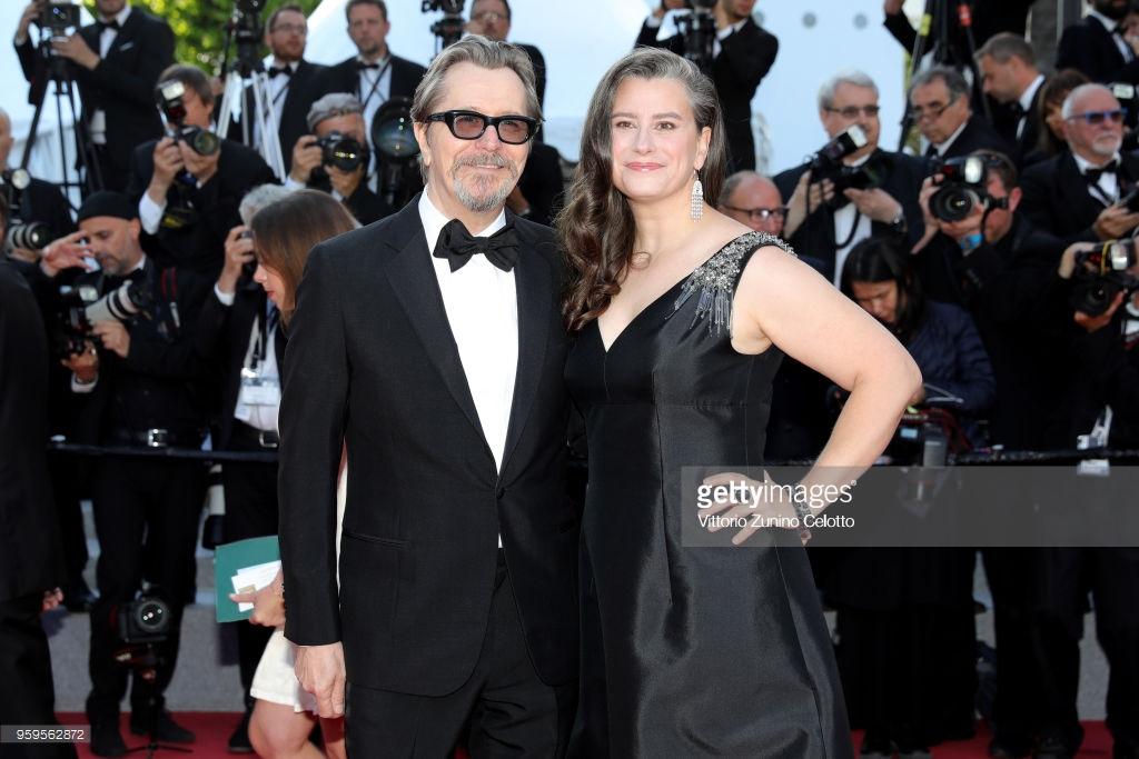 Gary Oldman và vợ Gisele Schmidt