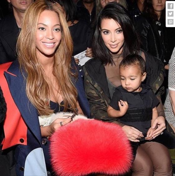 Kim Kardashian thường xuyên đưa con đi sự kiện. (Ảnh: Brightside)