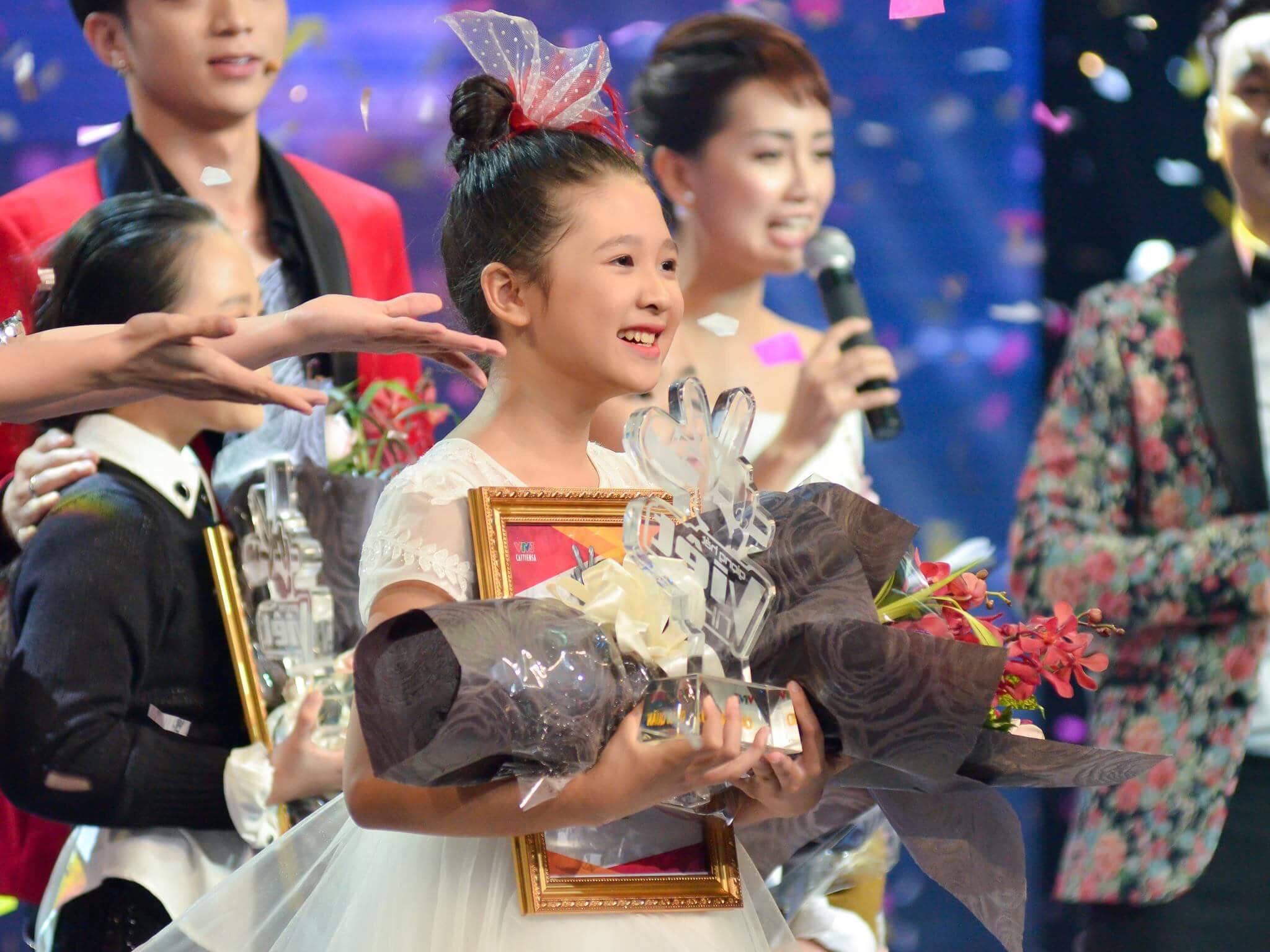 Ngọc Ánh - Quán quân Giọng hát Việt nhí 2018.