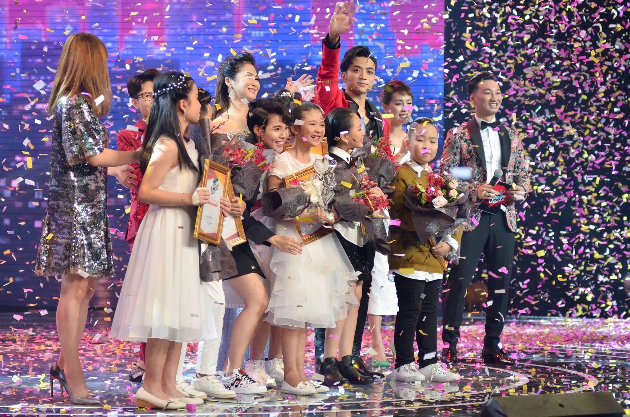 Dàn thí sinh được yêu thích nhất The Voice Kids 2017.
