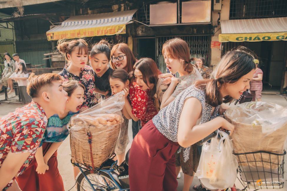 """""""Bánh mì Sài Gòn 5.000/ổ mại dô mại dô""""."""