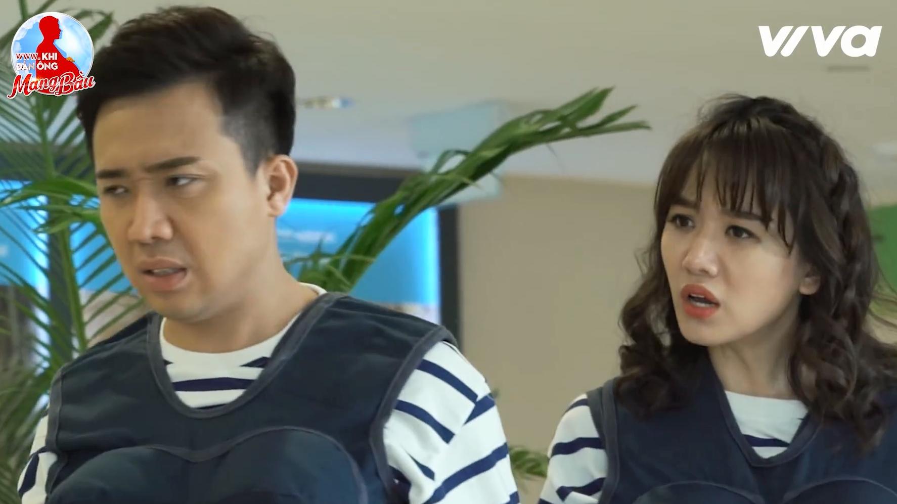 Đây là lần hiếm hoi Trấn Thành khó chịu với bà xã Hari Won.
