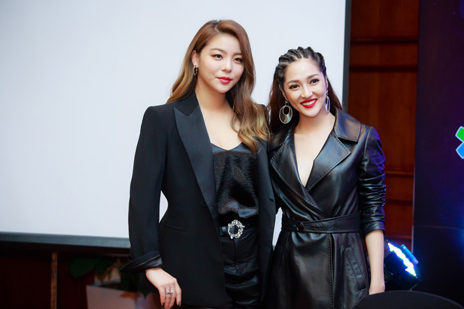 Tại buổi họp báo Đại nhạc hội kỉ niệm 25 năm thiết lập quan hệ ngoại giao Việt - Hàn diễn ra ở Hà Nội vào cuối năm 2017, <a href=