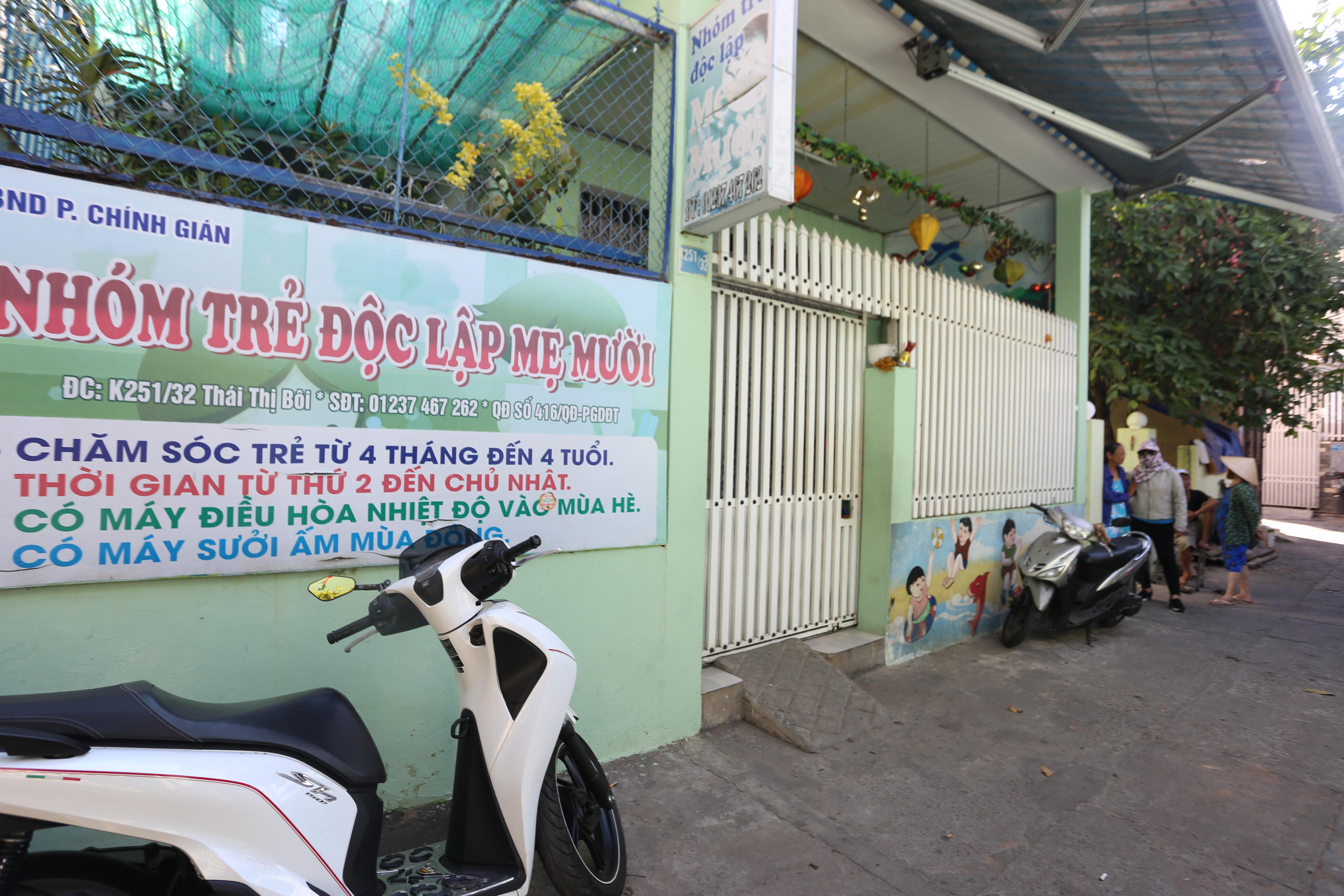 Hiện cơ sở trẻ Mẹ Mười đã bị đóng cửa.