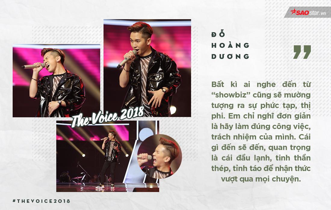 Đỗ Hoàng Dương: Khủng hoảng lớn hậu The Voice Kids, và bước ngoặt mới tại Giọng hát Việt 2018