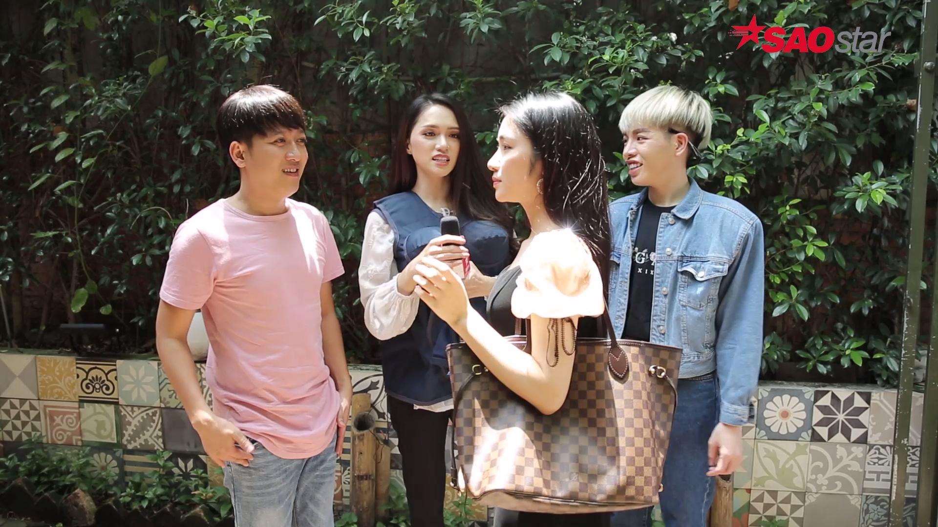 Cô gái trong nắng Hòa Minzy vất vả tìm người cho vay tiền đi taxi.