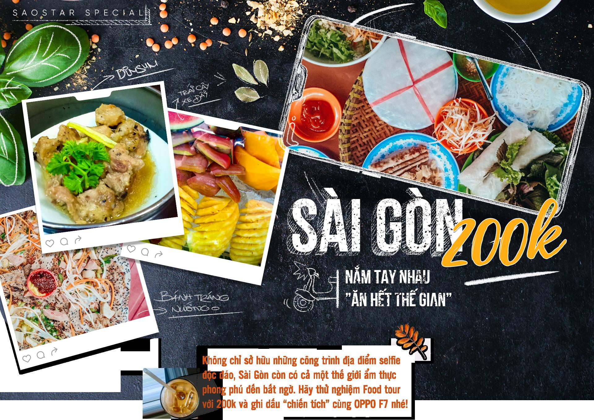 Sài Gòn 200k: Nắm tay nhau 'ăn hết thế gian'!