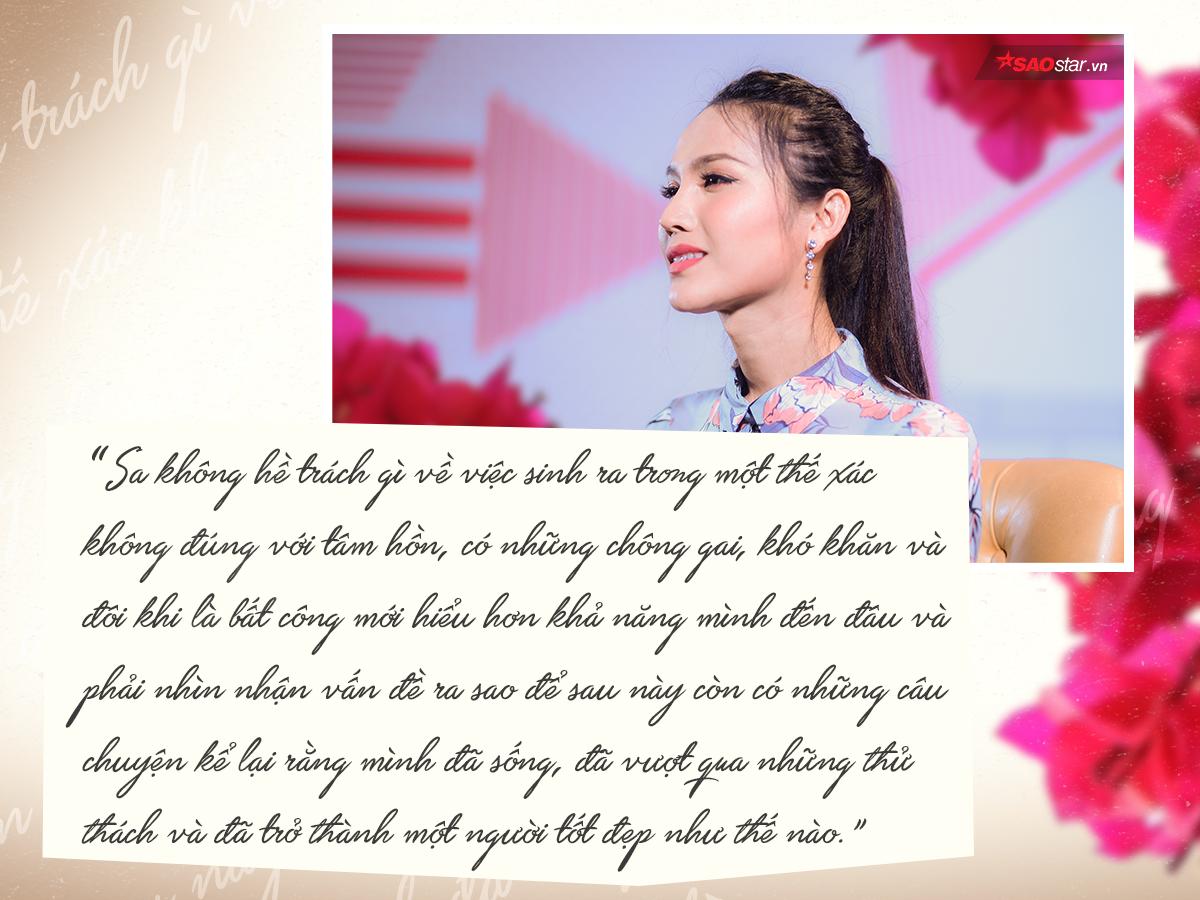 Hoài Sa: 'Chưa bao giờ hờn trách cuộc đời, chỉ muốn thực hiện ước mơ rồi về bên ba mẹ'