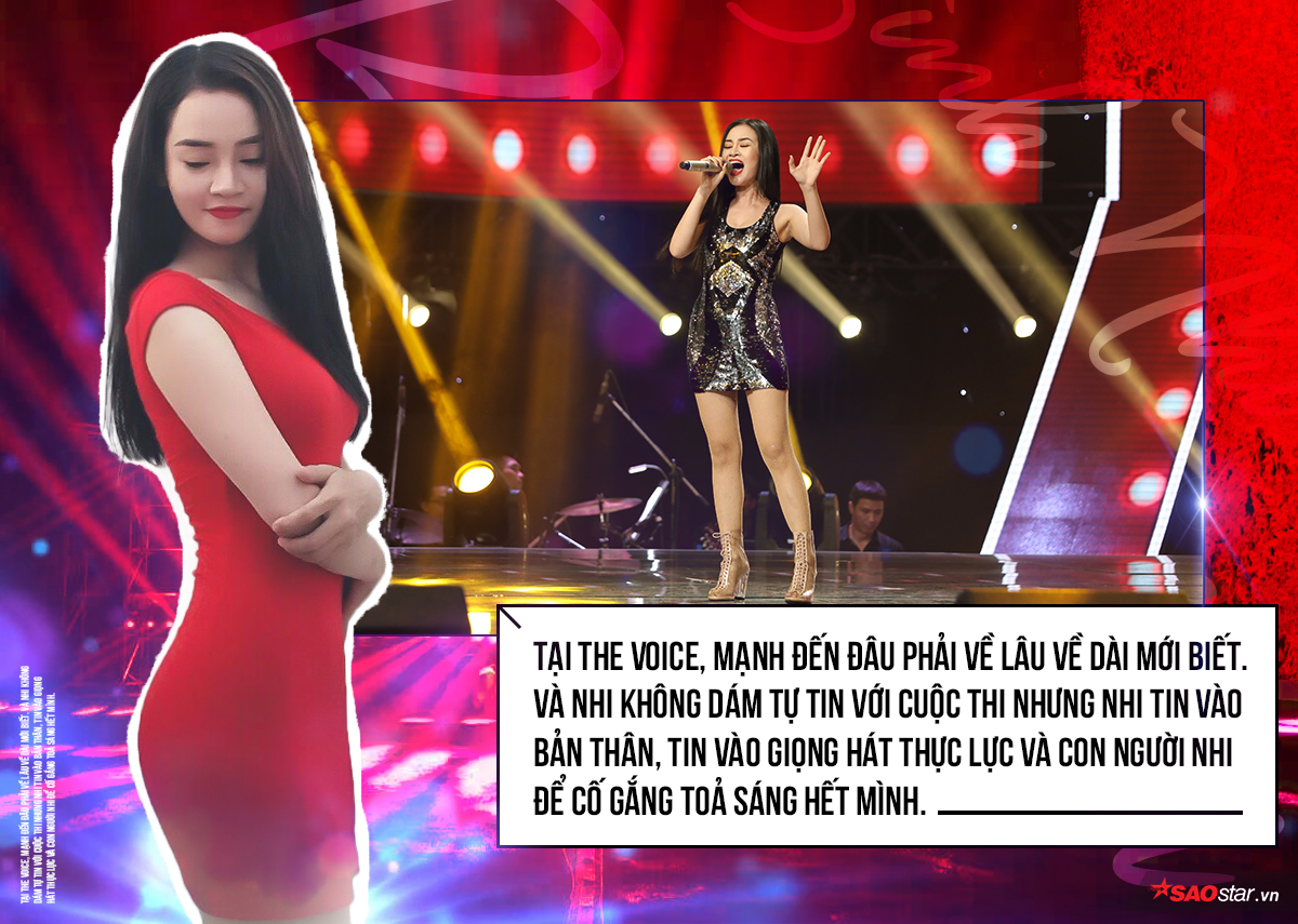 Bình Nhi: Hành trình lạ lùng bắt đầu từ lần… chồng lén dẫn đi casting The Voice 2018!