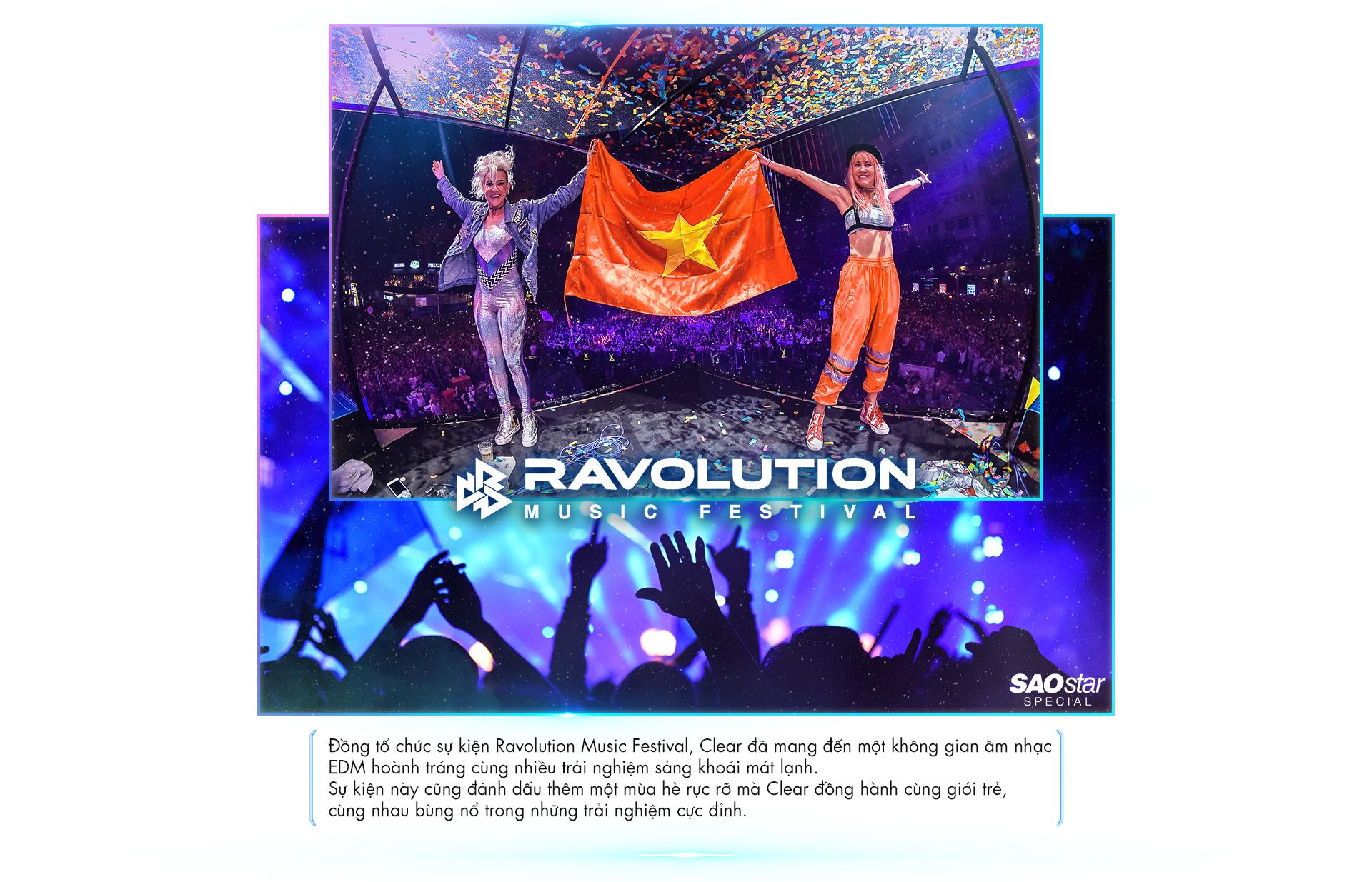 Không còn nghi ngờ gì nữa, Ravolution xứng đáng là sự kiện âm nhạc EDM 'đỉnh' nhất hè này