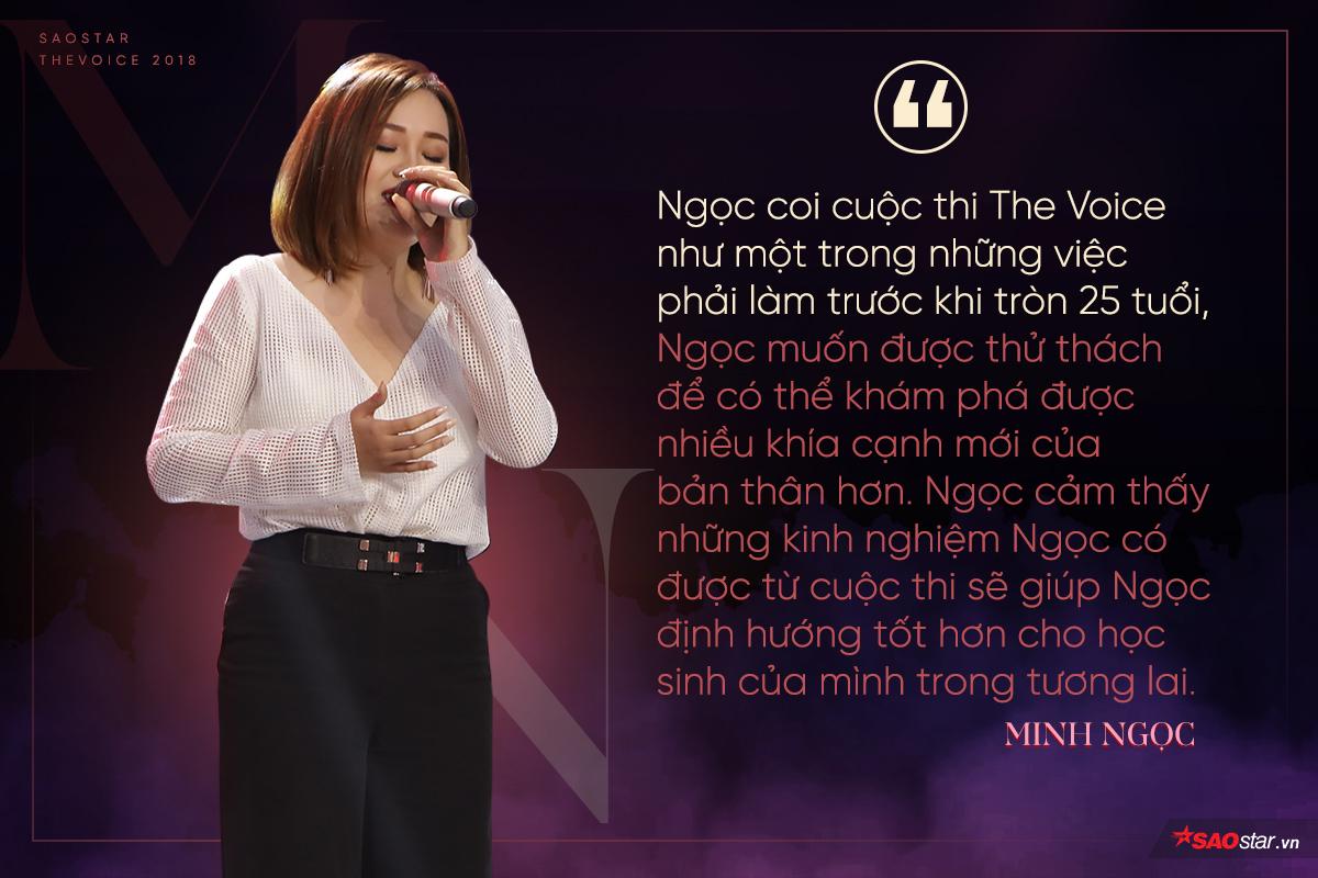 Minh Ngọc: 'Thỏ già đeo nơ' và chiếc nút chặn bước ngoặt tại 'đấu trường' The Voice 2018!
