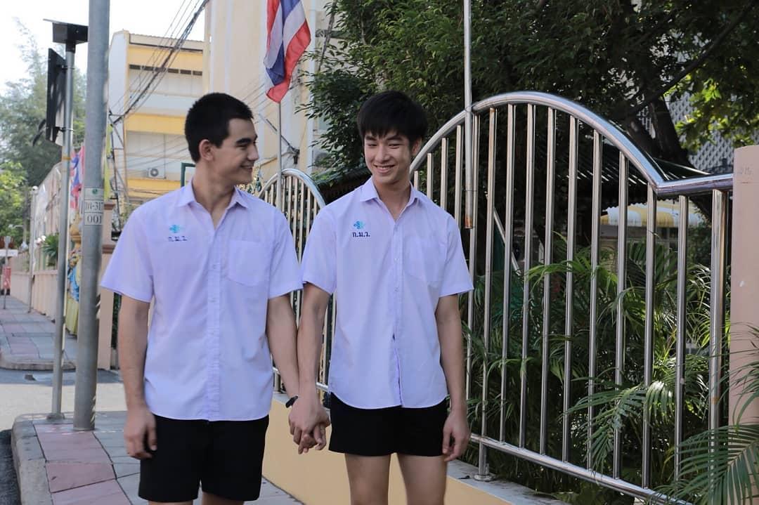 Frank và Drake - Hai anh chàng gây sốt trong phim boylove Thái 'Vì em là chàng trai của tôi'