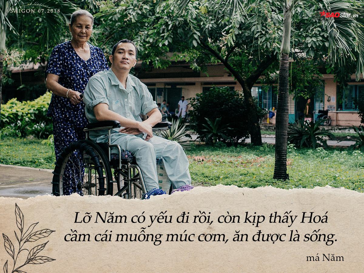 Chuyện má Năm hơn nửa đời nuôi người dưng ở Sài Gòn: 'Mai mốt Năm có chết thì cũng mong thằng Hóa được sống tiếp phần má'