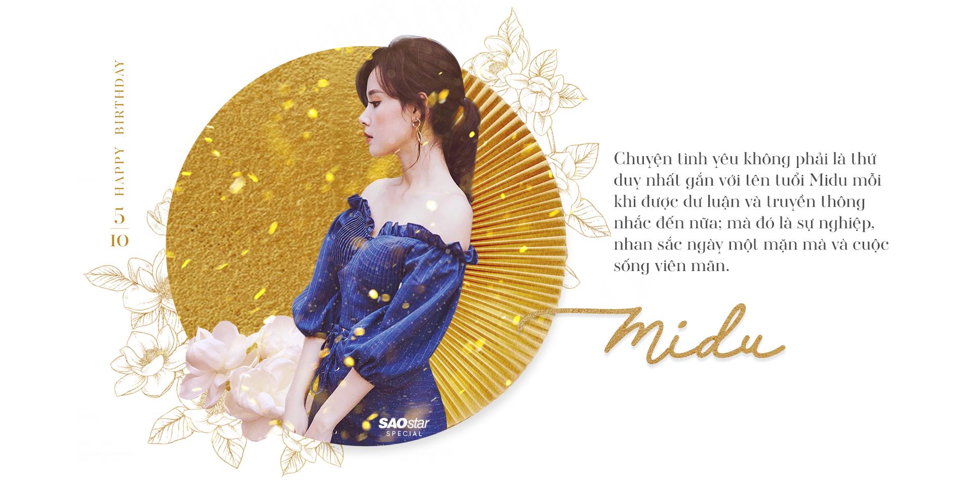 Midu: Công chúa kẹo ngọt của showbiz Việt từng bước trở thành nữ hoàng của riêng mình