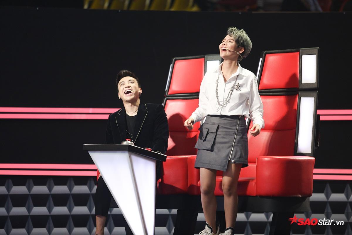 Soobin Hoàng Sơn - Vũ Cát Tường cười hả hê sau khi chặn Bảo Anh - Khắc Hưng