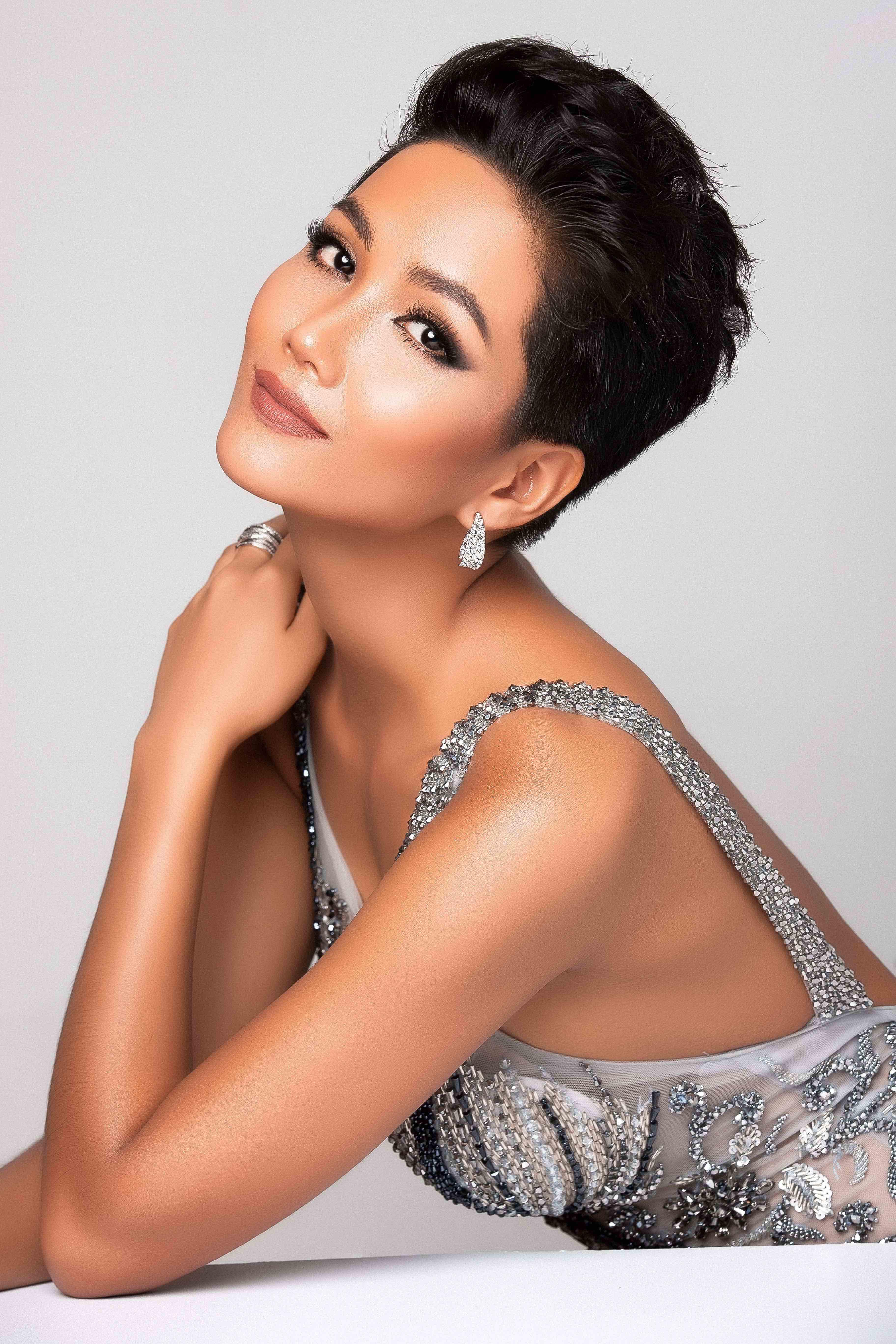 Hình ảnh Hoa hậu H\u0027Hen Niê chính thức xuất hiện trên trang chủ Miss Universe