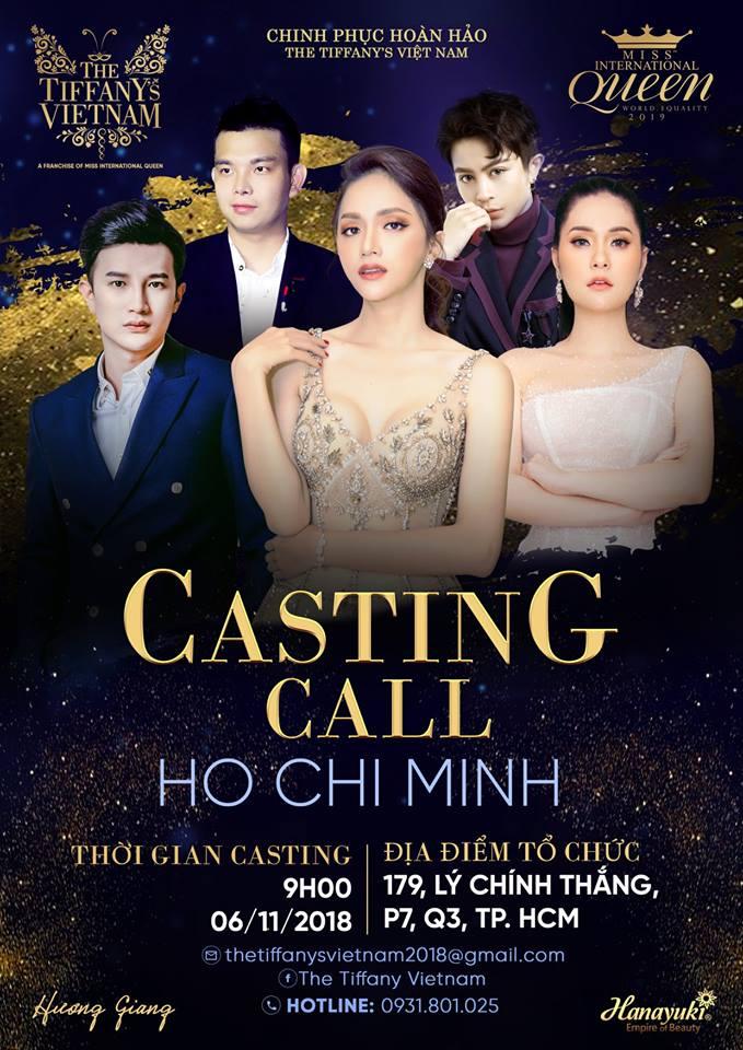 Show thực tế hoàn toàn mới The Tiffany Vietnam tưng bừng ngày tuyển sinh đầu tiên tại TP. HCM