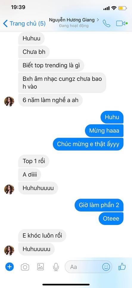 Hương Giang trending và câu chuyện nghẹn ngào