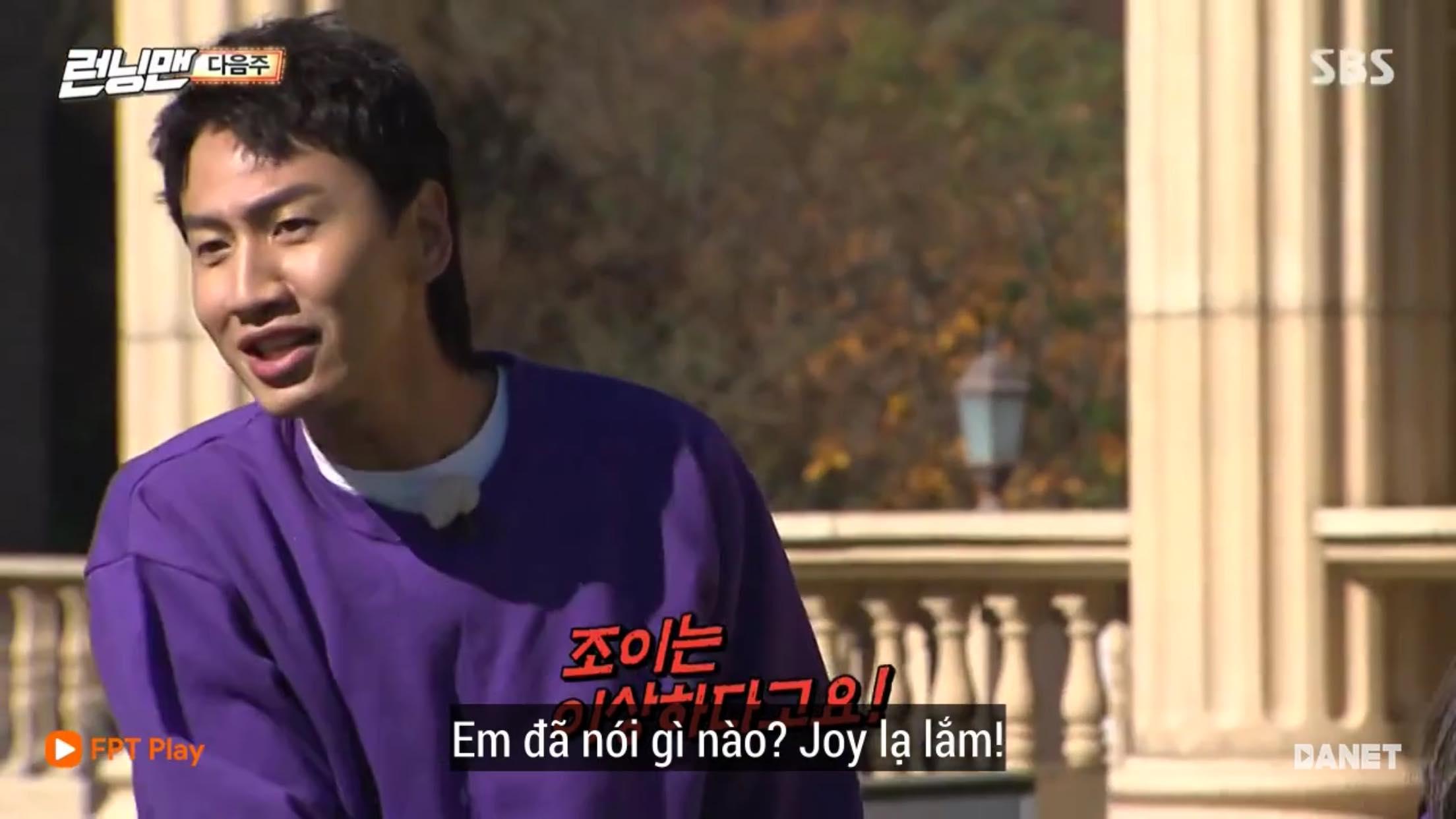 Running Man tập 427: Joy (Red Velvet) sẽ cướp mất trái tim