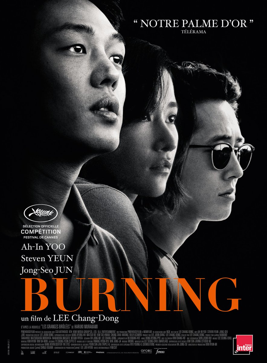 New York Times selects 10 movies and 12 best performers in 2018, including 'Burning' and Yoo Ah In of Korea
