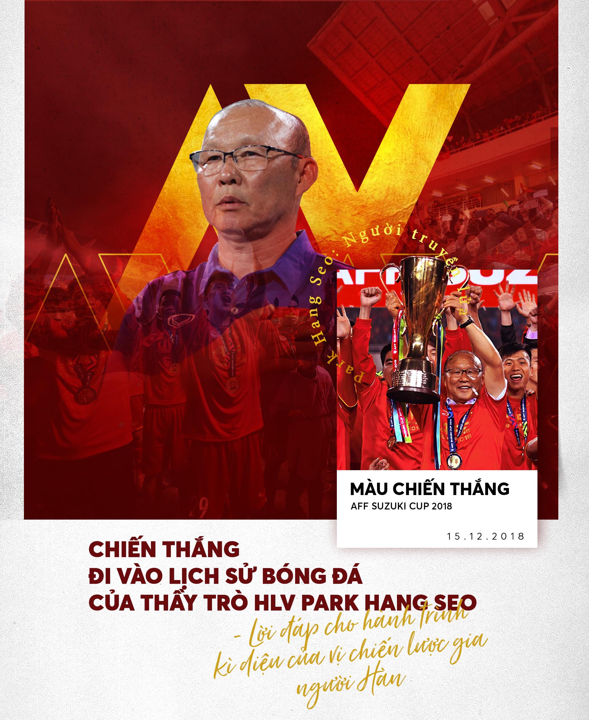 'Park Hang Seo - Người truyền lửa' và chiến thắng lịch sử: Lời đáp cho hành trình kì diệu