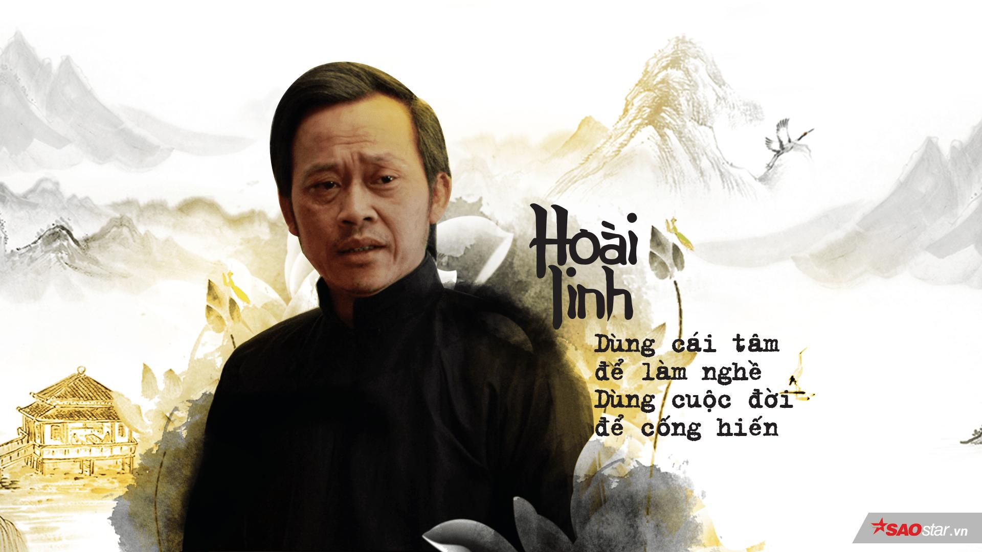 Nghệ sĩ Hoài Linh: Dùng cái tâm để làm nghề - Dùng cuộc đời để cống hiến