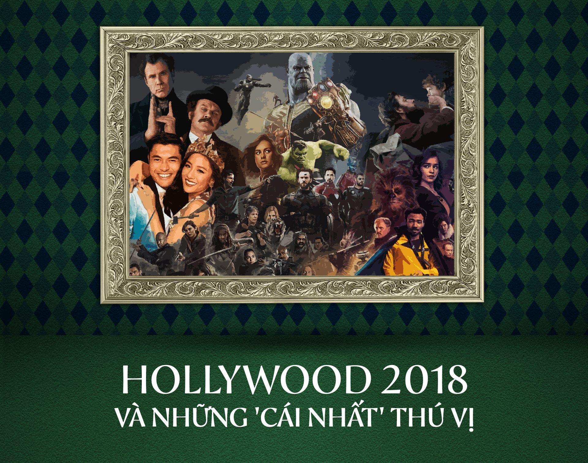 Hollywood 2018 và những 'cái nhất' thú vị