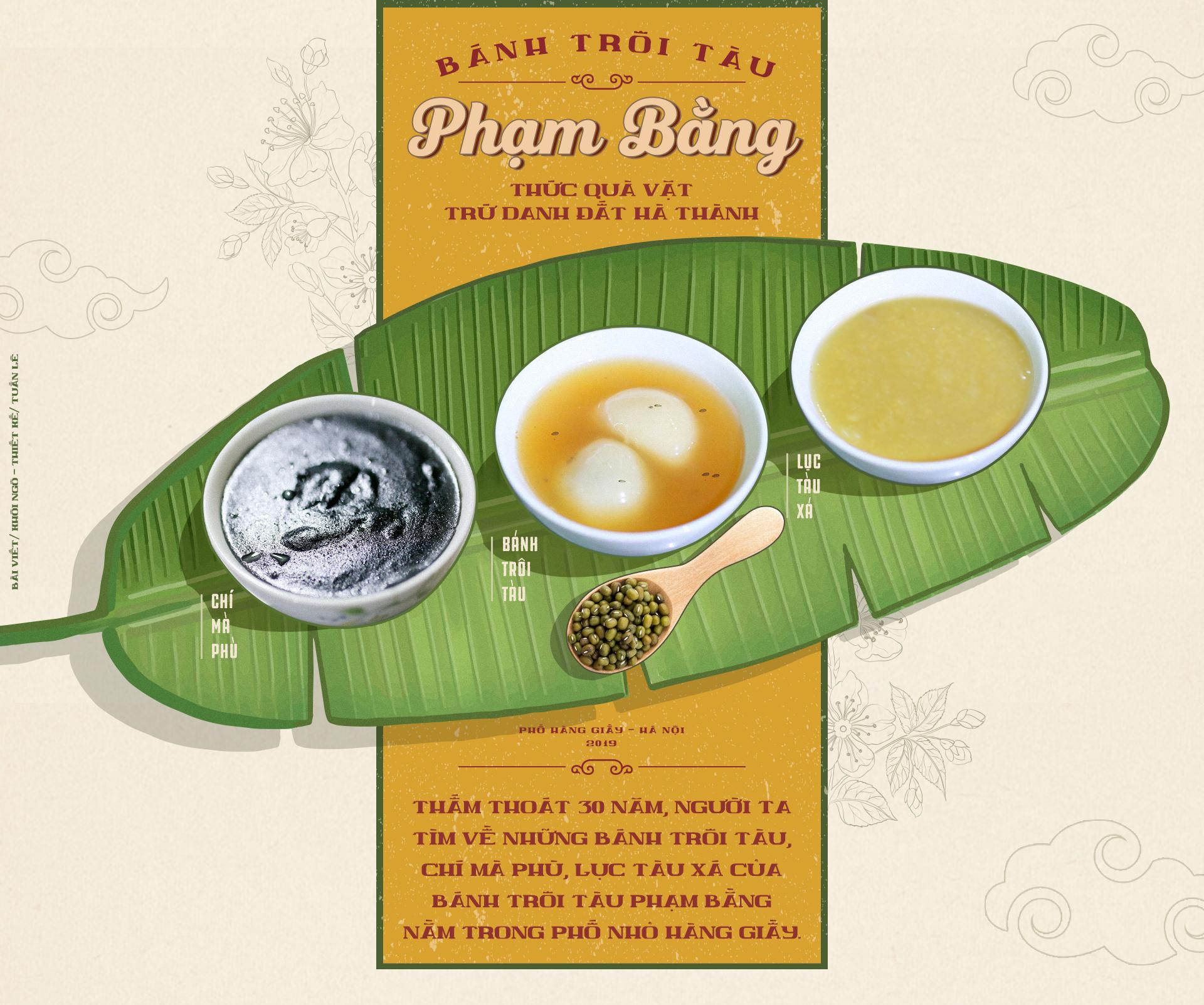 Bánh trôi tàu Phạm Bằng - thức quà vặt trứ danh trong hoài niệm người Hà Thành