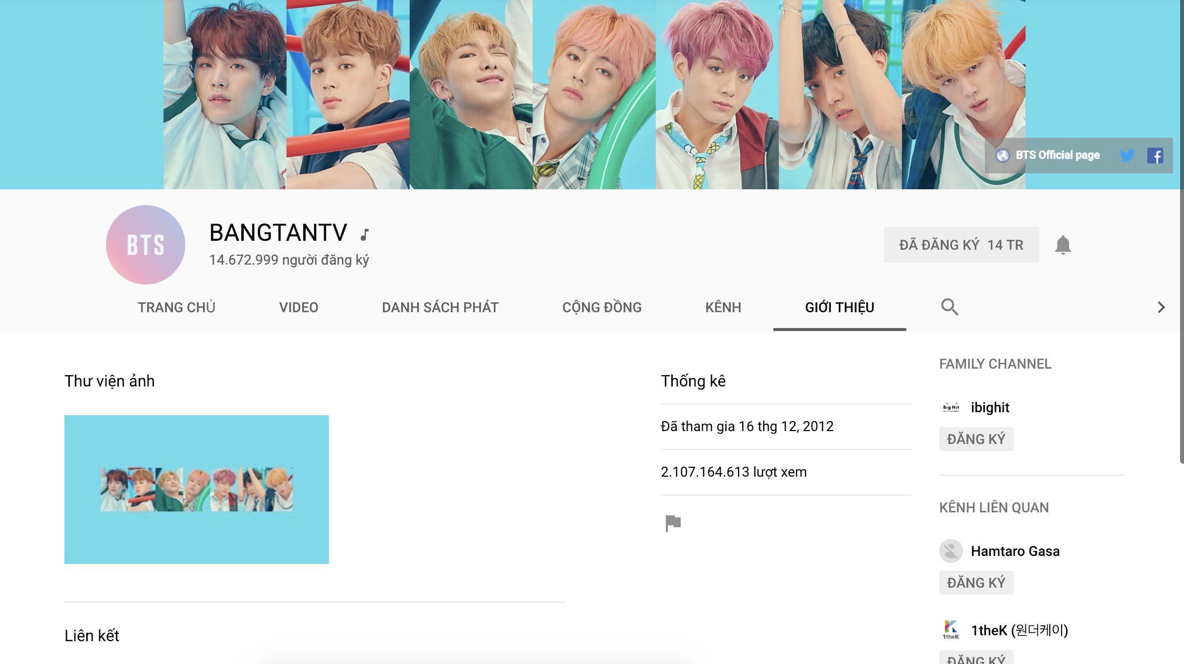 Kênh YouTube chính thức của BTS bị hacker tấn công để quảng bá cho một bộ