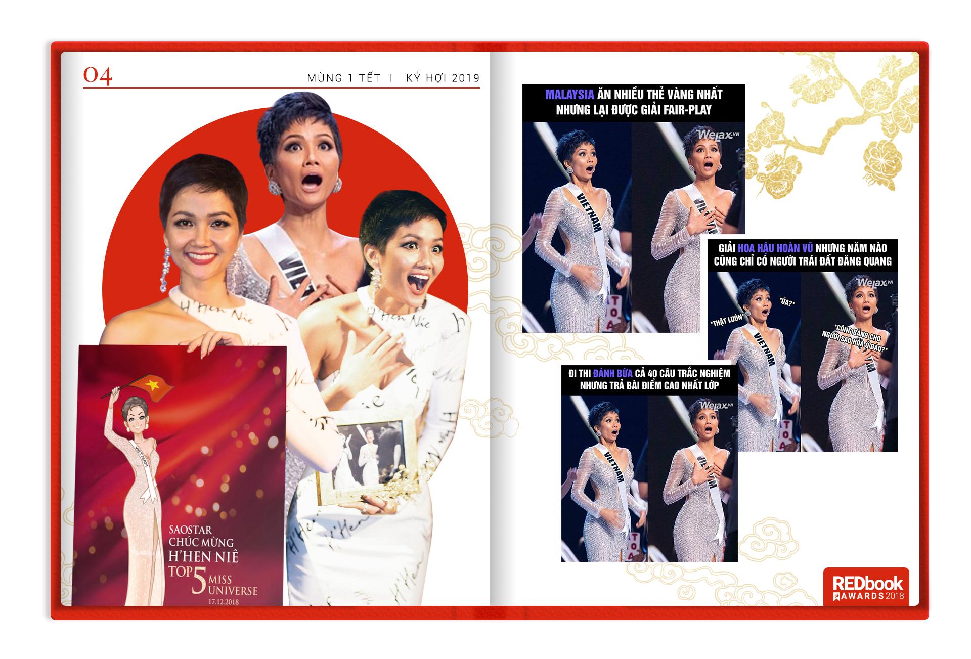 REDbook Tết Kỷ Hợi - Ngôi sao mùng 1 Tết:  Hoa hậu H'Hen Niê