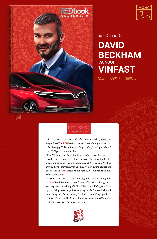 REDbook Tết Kỷ Hợi - Ngôi sao mùng 2 Tết: Chiếc xe hơi Việt đến nỗi David Beckham cũng phải ngợi ca!