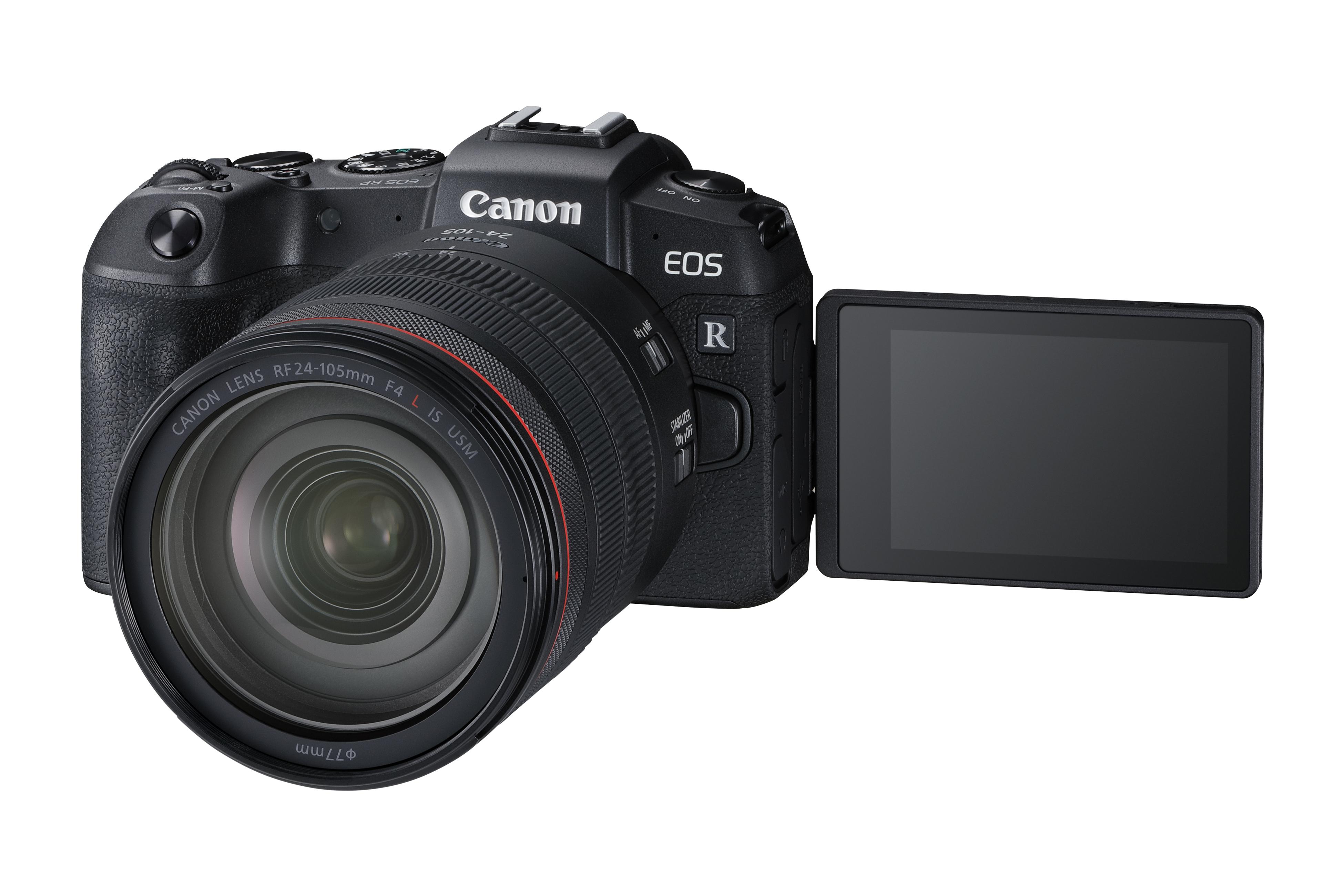 Canon ra mắt máy ảnh không gương lật EOS RP mới và máy in PIXMA TS707