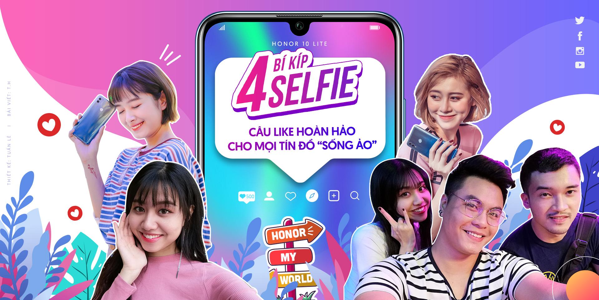 4 bí kíp selfie câu like hoàn hảo cho mọi tín đồ 'sống ảo'