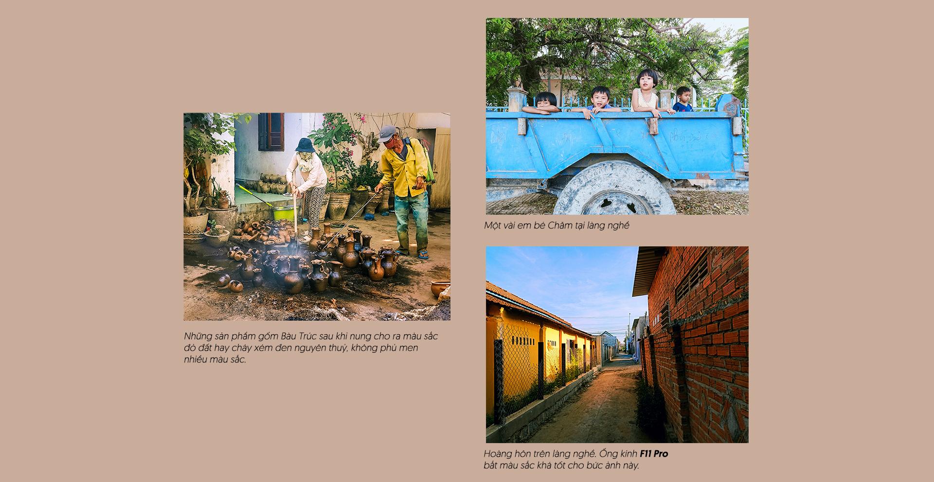 Hút hồn chân dung thiếu nữ Chăm và bức tranh làng nghề truyền thống qua ống kính OPPO F11 Pro vừa ra mắt