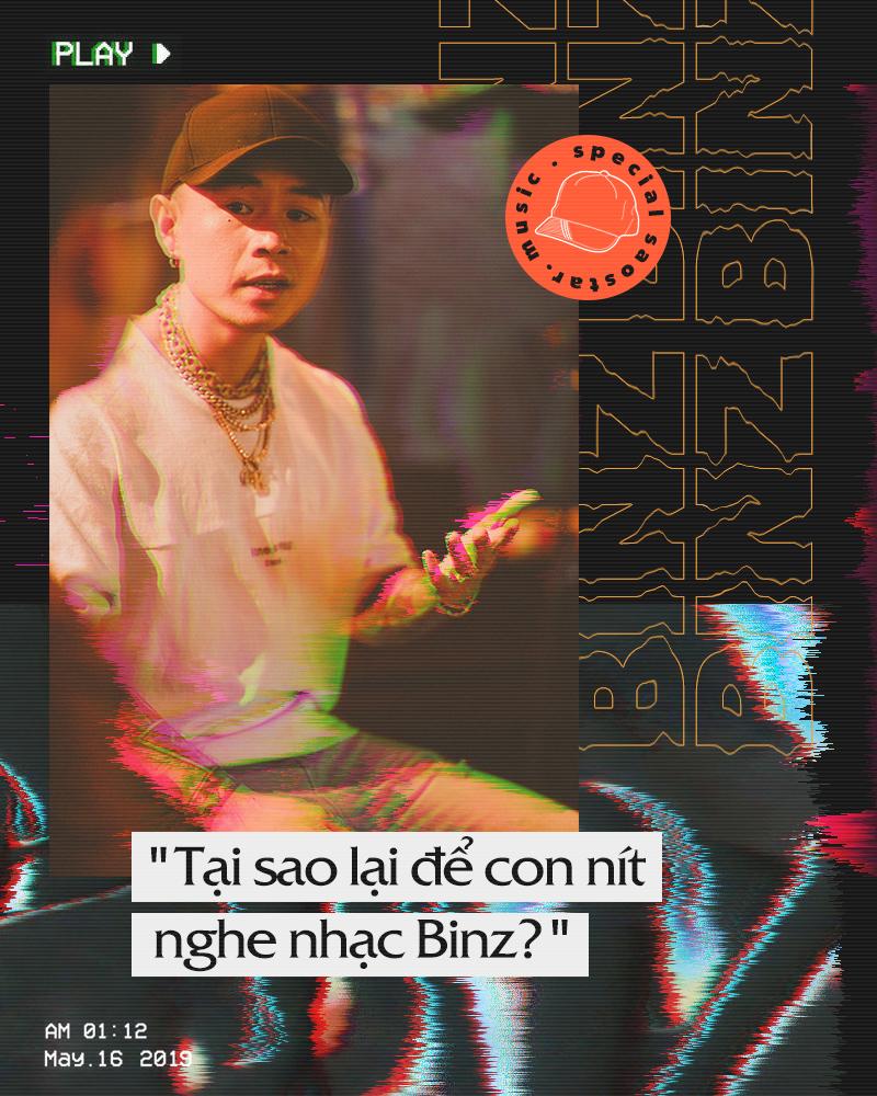 Binz: 'Vị trí của tôi khó ai cạnh tranh'