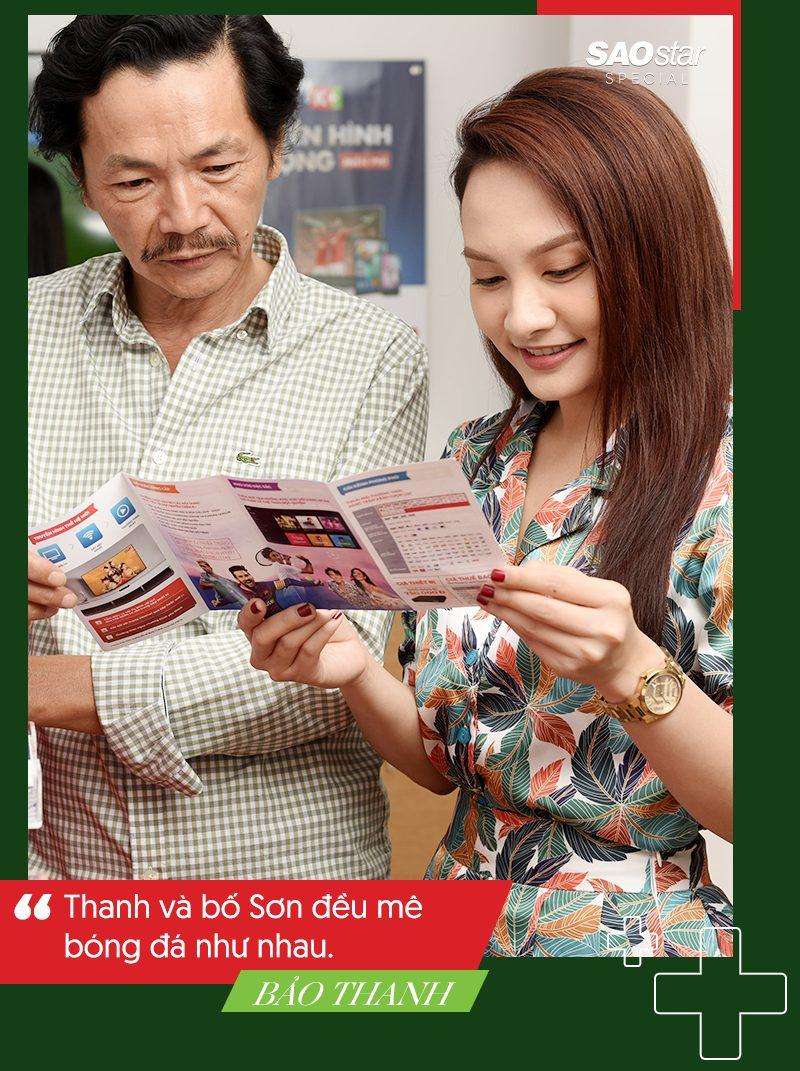 Diễn viên Bảo Thanh: Đàn ông hấp dẫn hơn khi mê bóng đá