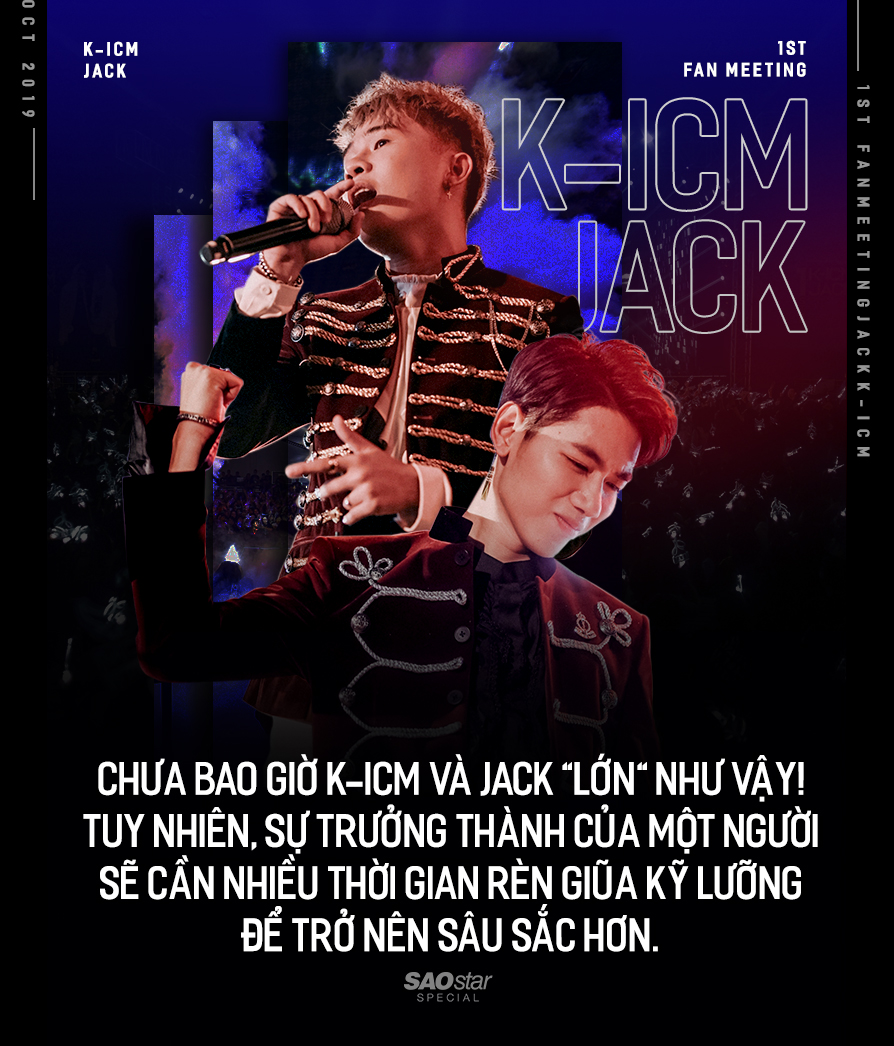 'Lễ trưởng thành' cực xịn của K-ICM và Jack: 2 chàng nghệ sĩ quá trẻ với hoài bão 'tham lam'