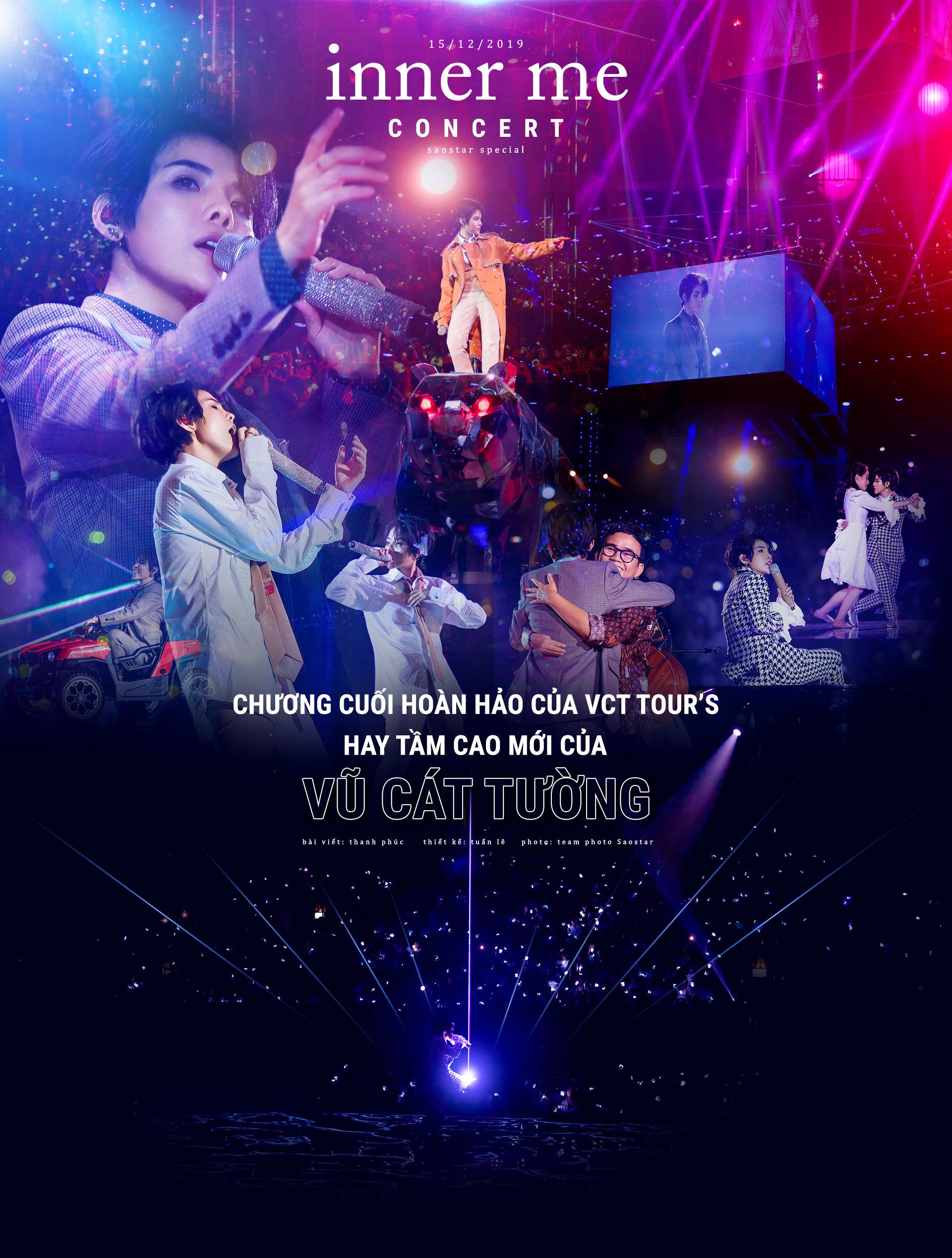 Inner Me concert: Chương cuối hoàn hảo của VCT Tour's 2019 hay tầm cao mới từ Vũ Cát Tường?