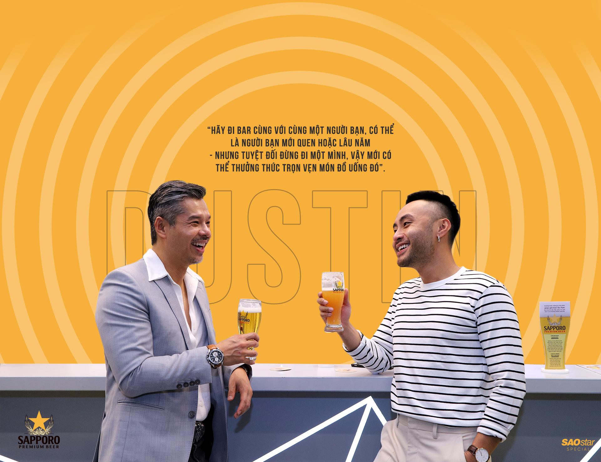 Khám phá quán bar chuẩn Nhật cao cấp giữa lòng Sài Gòn cùng Dustin Nguyễn