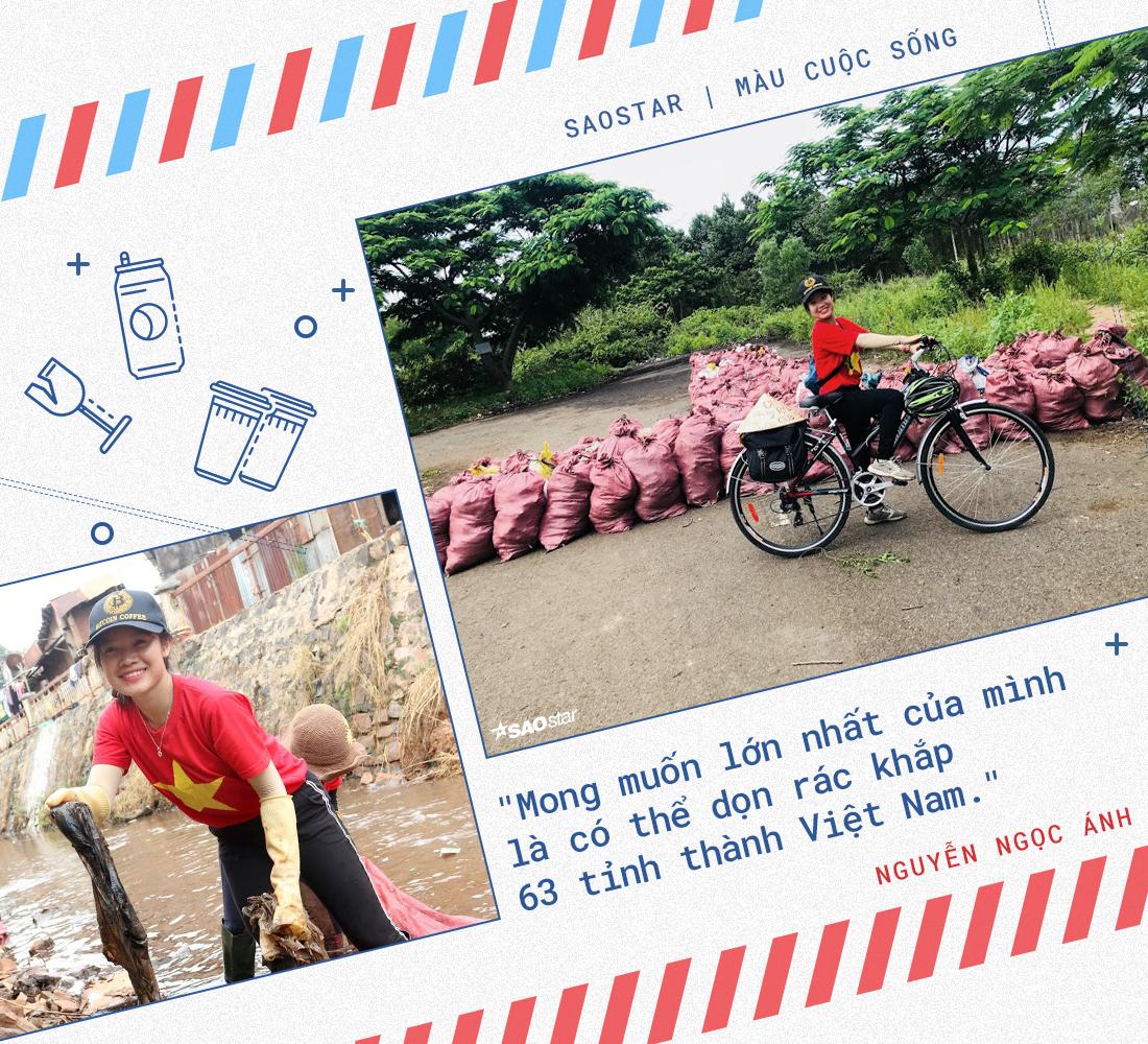 Nguyễn Ngọc Ánh - cô gái từ bỏ công việc ổn định đi nhặt rác với ước mơ làm sạch Việt Nam