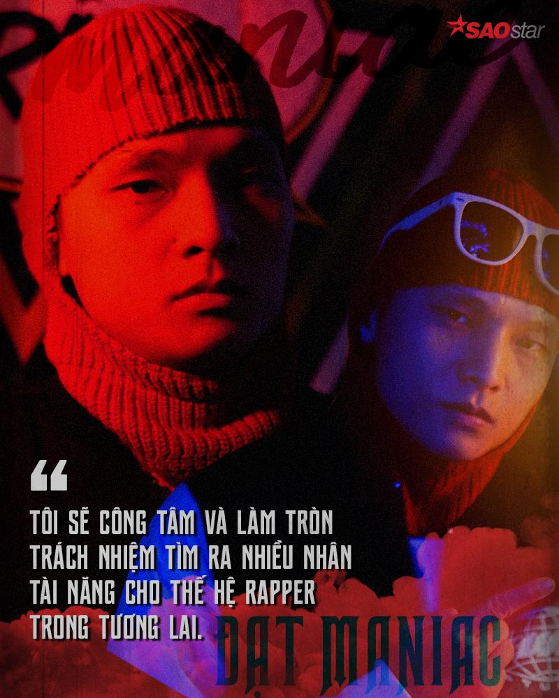 Datmaniac: 'Đến với King Of Rap, không phải bất kỳ ai mà chính nhạc Rap mới là Vua'