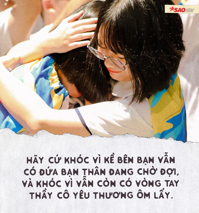 Chia tay tuổi học trò theo cách của chuyên Lê Hồng Phong: Là nước mắt, là nụ cười và cả thanh xuân rực rỡ Ảnh 5