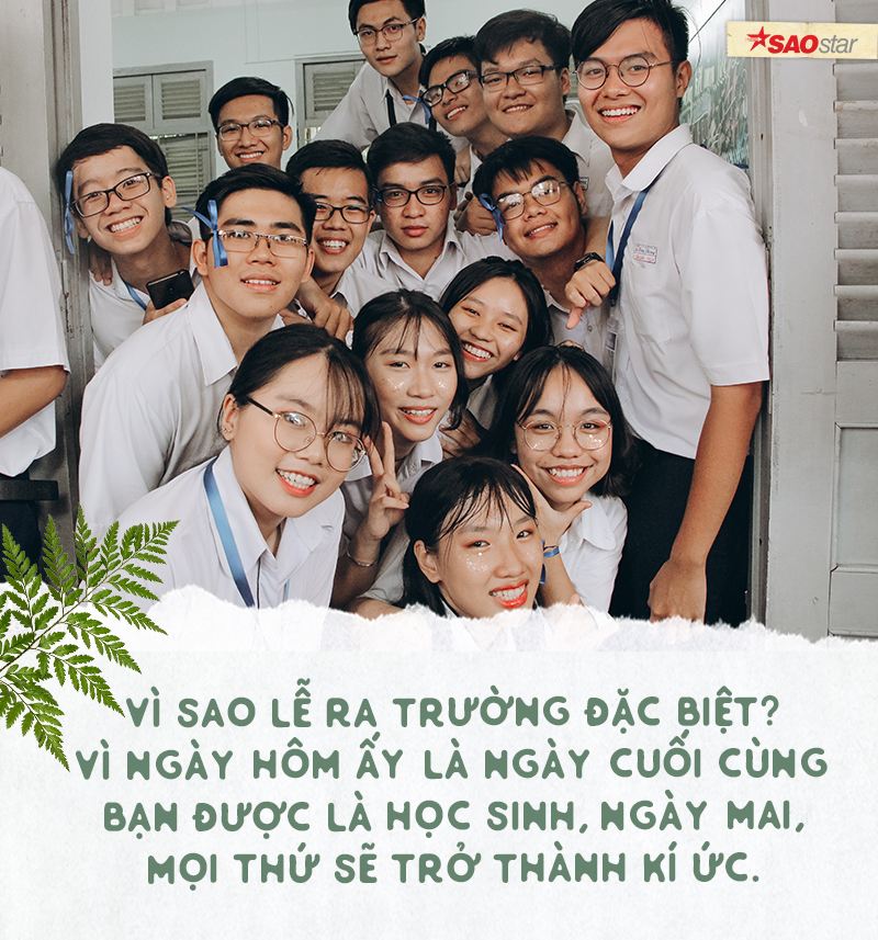 Chia tay tuổi học trò theo cách của chuyên Lê Hồng Phong: Là nước mắt, là nụ cười và cả thanh xuân rực rỡ Ảnh 4