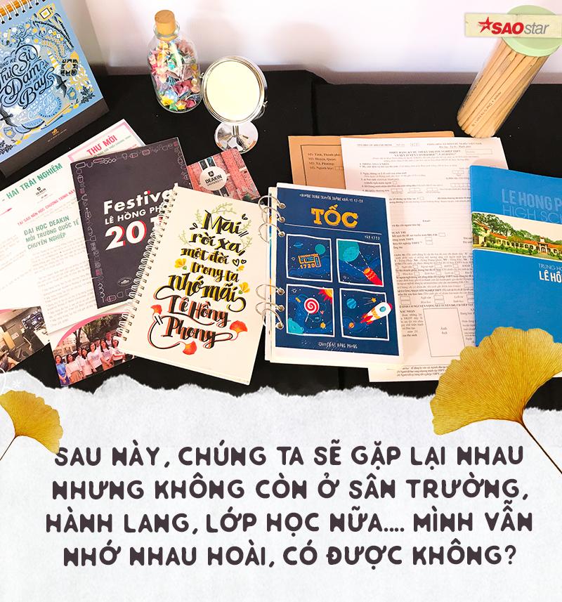 Chia tay tuổi học trò theo cách của chuyên Lê Hồng Phong: Là nước mắt, là nụ cười và cả thanh xuân rực rỡ Ảnh 6
